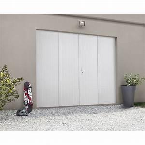 porte de garage pliante manuelle artens essentiel 200 x With porte de garage coulissante jumelé avec tordjman