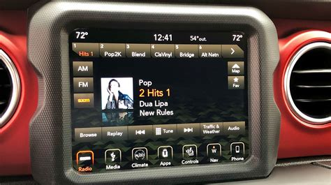 jeep wranglers  infotainment systems top