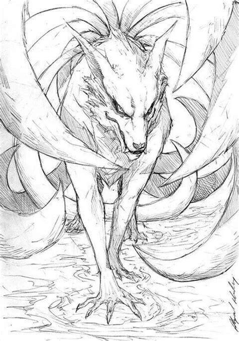 kurama   tail fox naruto naruto pinterest