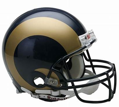 Rams Helmet Football Nfl Helmets Angeles Los