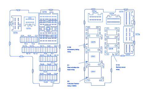 Ford Explorer Fuse Box Block Circuit Breaker Diagram