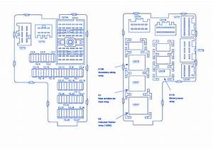 Ford Explorer 2002 Fuse Box  Block Circuit Breaker Diagram