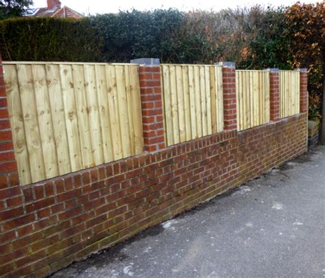 brick and wood fence pictures brick fence designs plans home design