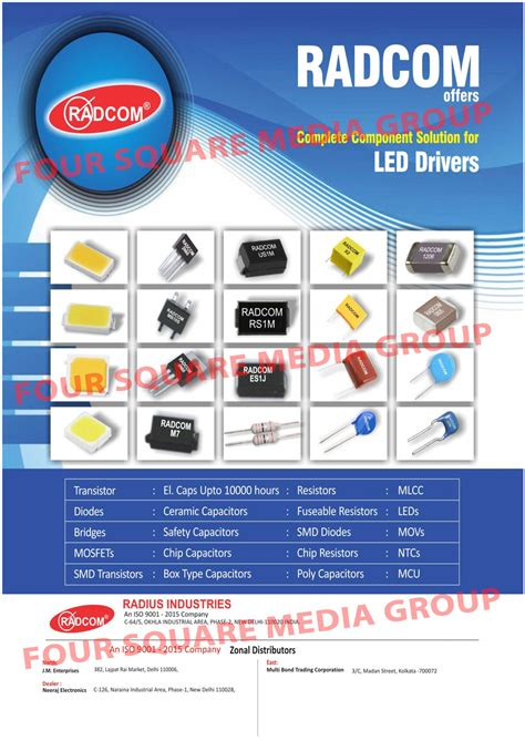 Led Drivers Components Electronic