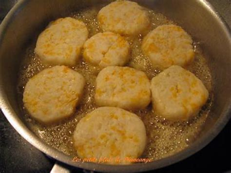 recette de croquettes de pommes de terre au cheddar jaune
