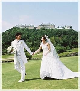 With wedding pho