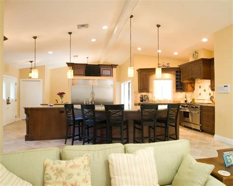 cathedral ceiling kitchen lighting ideas lighting for cathedral ceiling in the kitchen integralbook