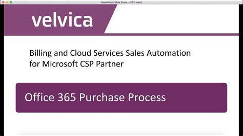 Office 365 Purchase by Velvica Office 365 Purchase Process Screencast