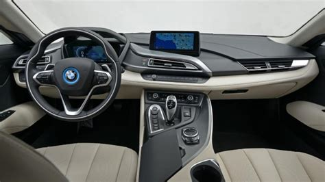 Bmw I8 Coupe Interior, Dashboard & Satnav