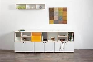 Sideboard Zum Aufhängen : hier ein sideboard aus cubes mit und ohne t ren und ein paar halbe tiefen oben an der wand ~ Indierocktalk.com Haus und Dekorationen