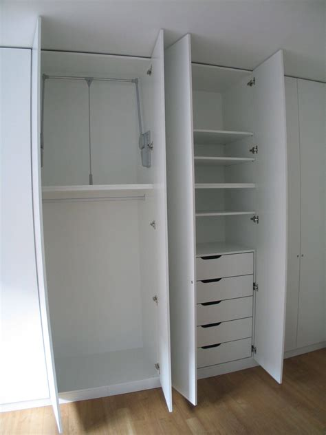 30 best collection of wardrobe with drawers and shelves