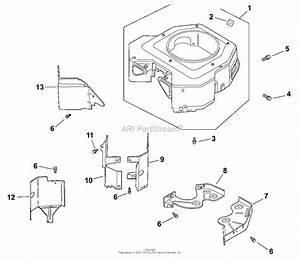 Kohler Cv730 Mtd 23 5 Hp  17 5 Kw  Parts Diagram For Blower Housing  U0026 Baffles 6