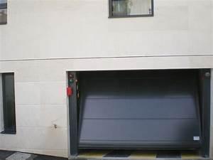 portes de garage basculantes safir s400 tole lisse With tole pour porte de garage