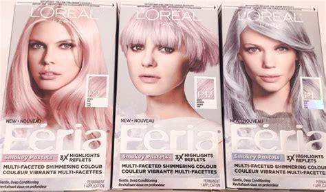 L'oreal Paris Hair Color Feria Pastels Dye, Smokey