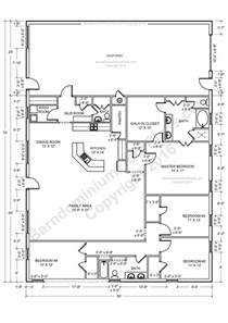 4 bedroom pole barn house floor plans barndominium floor plans barndominium floor plans 1 800