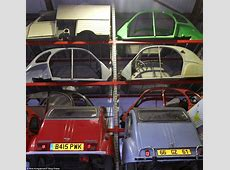 How Citroen 2CV wrecks are being restored in Britain