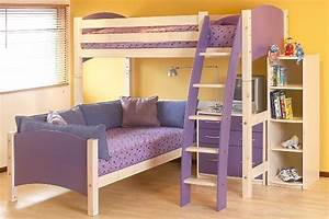 45 bunk bed ideas with desks ultimate home ideas With girly bunk beds for kids and teenagers