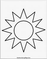 Sun Coloring Pages Simple Sunshine Drawing Cloud Sunscreen Moon Hat Kid Colouring Printable Fire Sunglasses Sheet Getcolorings Pillar Getdrawings Realistic sketch template