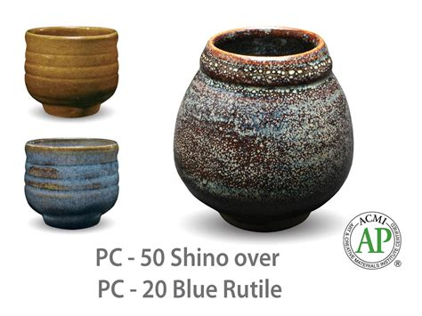 Amaco Glaze by Amaco Potter S Choice Layered Glazes Pc 20 Blue Rutile And