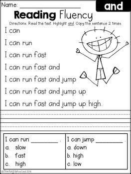 reading fluency  comprehension set  education