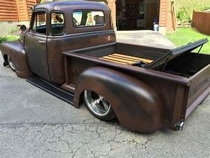 Air Ride 1954 Chevrolet Pickup Custom Patina Paint For Sale