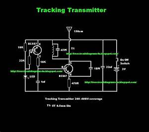 Schematic Diagram  Simple Tracker Circuit Wiring Diagram