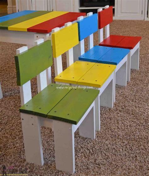 Table Et Chaises En Palettes Recyclées Wood Pixodium Plus De 1000 Idées à Propos De Meubles En Palette Sur
