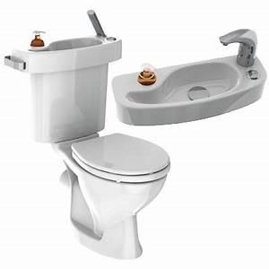 Lavabo Pour Toilette : economie d 39 eau vos toilettes avec lavabo int gr page 3 ~ Edinachiropracticcenter.com Idées de Décoration