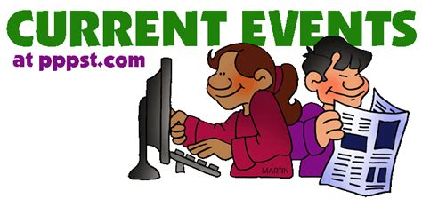 Current Events Clipart