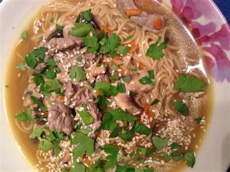 pho soupe vietnamienne au boeuf recette de pho soupe