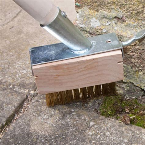 cleaning decking with uk 2 in 1 patio paving decking cleaning and weeding brush