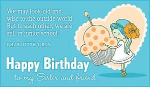 Free Birthday - Sister eCard - eMail Free Personalized ...