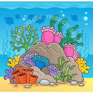 Coral Reef Cartoon | www.pixshark.com - Images Galleries ...