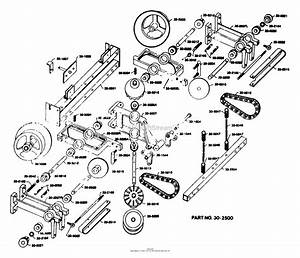 Dixon Ztr 421  1977  Parts Diagram For Transaxle Assembly