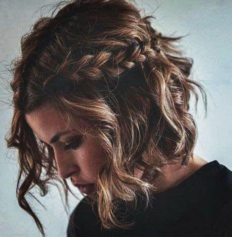 zoepfe flechten kurze haare frisuren