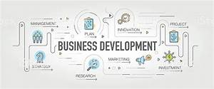 Business Development Banner And Icons Stock Vector Art ...