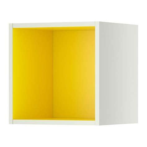 TUTEMO Rangement ouvert - blanc/jaune 40x37x40 cm - IKEA Caisson pour u00e9tagu00e8re | For the home ...