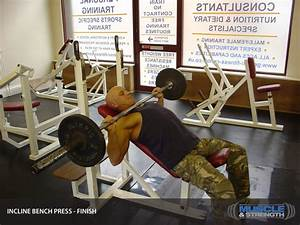 Incline Bench Press Video Exercise Guide  U0026 Tips