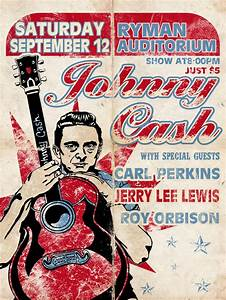 Johnny Cash Poster : 17 best images about cool music posters on pinterest willie nelson gillian welch and carolina ~ Buech-reservation.com Haus und Dekorationen