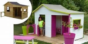 Cabane Enfant Occasion : maisonnette en bois gaby maisonnette en bois maisonnette et v randas ~ Teatrodelosmanantiales.com Idées de Décoration
