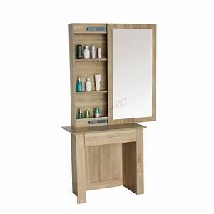 Coiffeuse Moderne Avec Miroir : westwood coiffeuse moderne en bois maquilage table avec coulissant miroir dt04 ebay ~ Farleysfitness.com Idées de Décoration