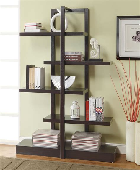 mid century modern bookcase with glass unique bookshelf ideas to enhance the of ur house