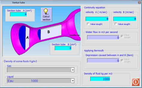Venturi Nozzle Calculation