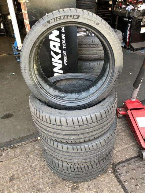 michelin pilot sport 4 225 40 r18 michelin pilot sport 4 225 40 r18 92y xl only 100mls 1 wk in tower bridge gumtree