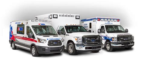 Type I, Type Ii, Type Iii Ambulances And