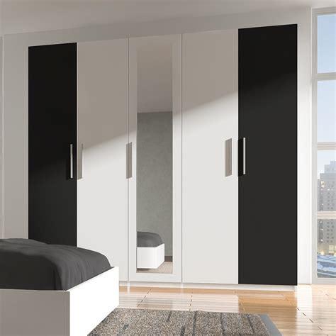 chambre meuble blanc armoire chambre noir et blanc