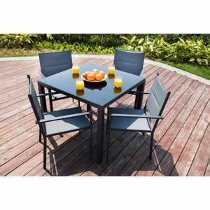 Table De Jardin 4 Personnes : table et chaise de jardin 4 personnes bricolage maison et d coration ~ Teatrodelosmanantiales.com Idées de Décoration