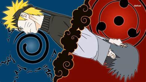25 Wallpaper Gambar Foto Sasuke Dan Naruto