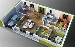 Creation Maison 3d : un creation de plan 3d l 39 impression 3d ~ Premium-room.com Idées de Décoration