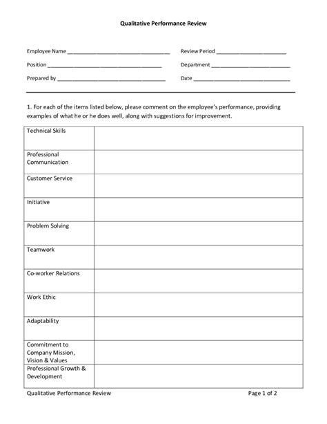 employee review form pdf 2018 employee evaluation form fillable printable pdf